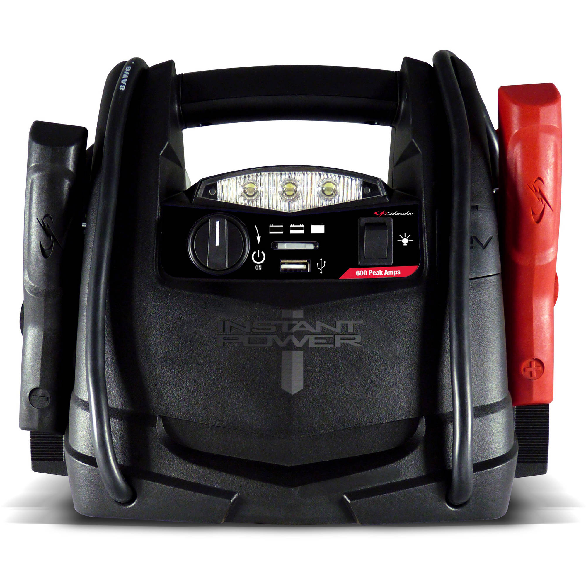 Portable Battery Heater Schumacher Electric 600 Amp Jump Starter Walmartcom