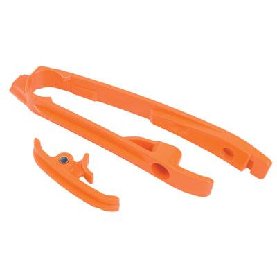 Acerbis Chain Slider  Orange