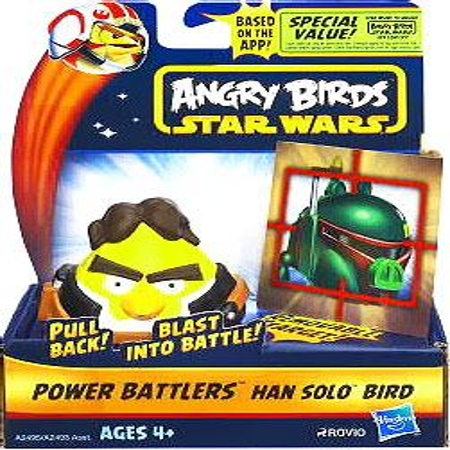 Angry Birds Halloween 2-5 3 Stars (Star Wars Angry Birds Power Battlers Han Solo)