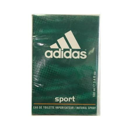 Adidas Mens Edt Spray - ADIDAS SPORT 3.4 oz EDT eau de toilette Spray Men's Cologne 3.3 100ml NIB