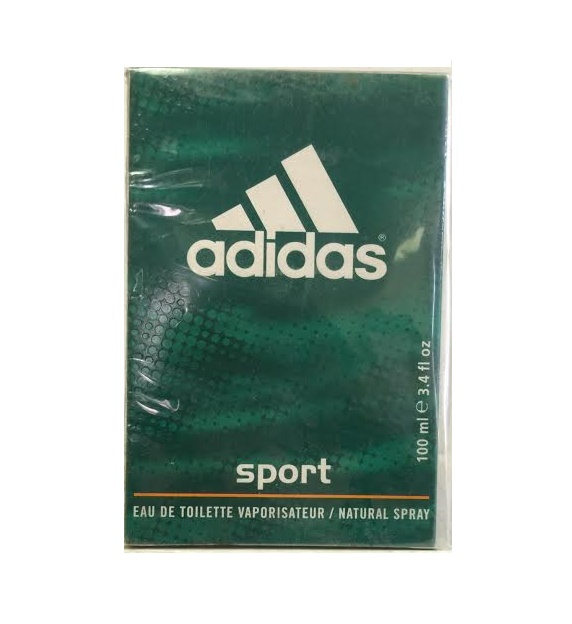 ADIDAS SPORT 3.4 oz EDT eau de toilette Spray Men's Cologne 3.3 100ml NIB