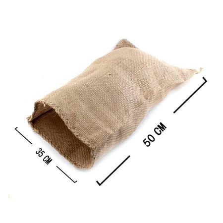 35cm x 50cm Hopping Jumping Games Sandbags Natural Burlap Potato Sacks Race Bags