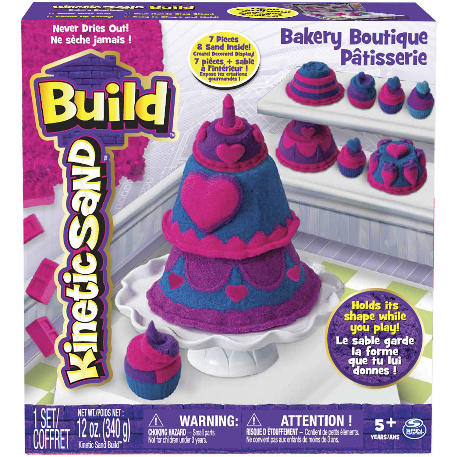 The One & Only Kinetic Sand Build Bakery Boutique Playset