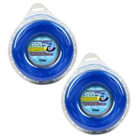 """Cyclone CY065D1/2 0.065"""" x 300' Commercial String Trimmer Line Blue (2-Pack), Made in the USA"""