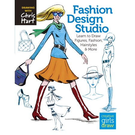Fashion Design Studio : Learn to Draw Figures, Fashion, Hairstyles & More