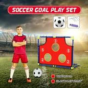 Children Football Soccer Goal Net Set Ball Play In/Outdoor Toy Sports Gift