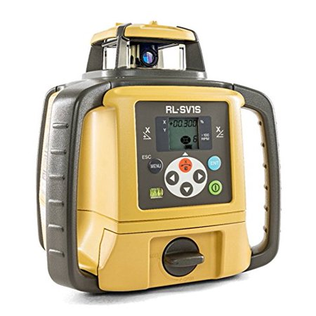 Topcon 313990756 RL-SV1S Self Leveling Single Slope Rotary Laser