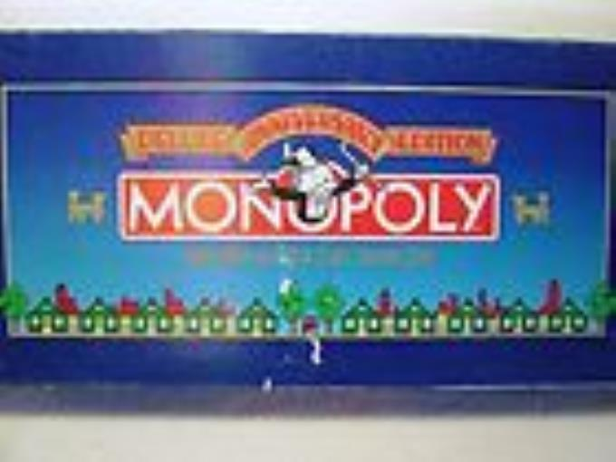 Monopoly Deluxe 50th Anniversary Edition Used by Parker Brothers