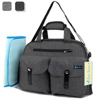 10c54b9dc4 Product Image JOIE BEAN Baby Diaper Tote Bag with Changing Mat and  Insulated Pockets