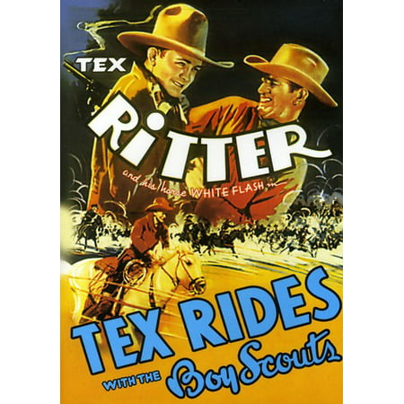 Tex Rides With the Boy Scouts - Scout Halloween Movies