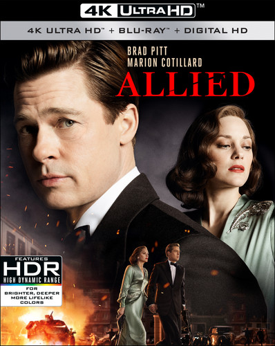Allied (4K Ultra HD) (Walmart Exclusive) (With INSTAWATCH) by