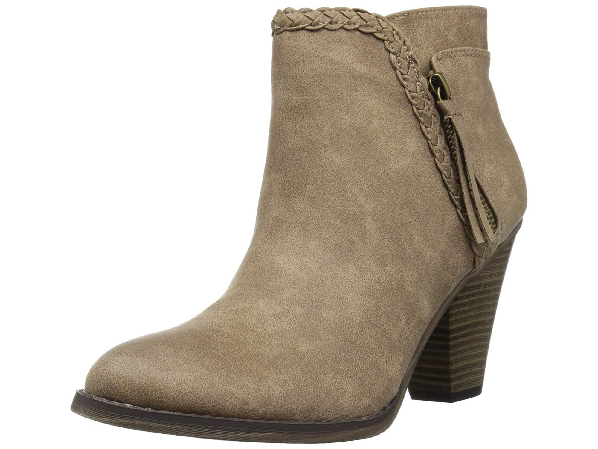 Details about  /Women/'s Girls Snow Comfort Comfort College Wedge Low Heel Pull On Ankle Boots D