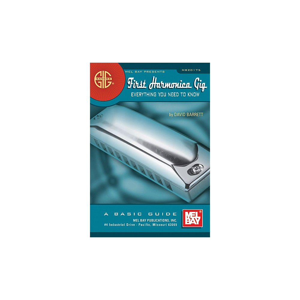Mel Bay Gig Savers: First Harmonica Gig Book by