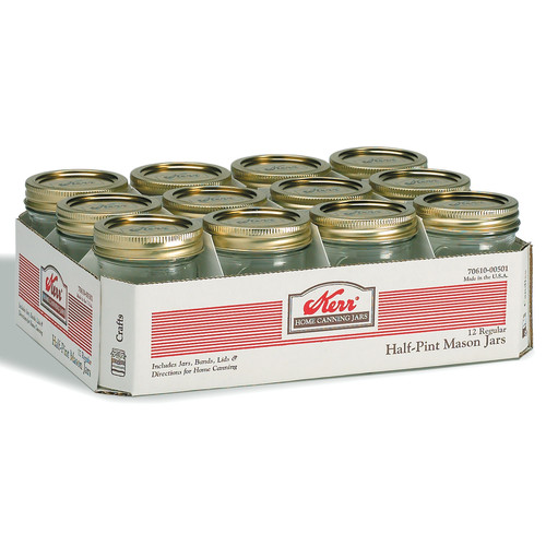 Alltrista Regular Mouth Canning jar Set (Set of 12)
