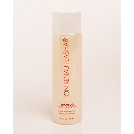 jon renau shampoo for synthetic fiber wigs, toupes 8.5 fl (Best Shampoo For Synthetic Wigs)