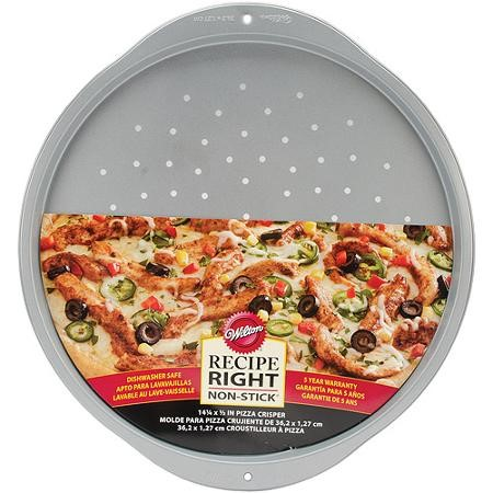 Wilton Recipe Right Pizza Crisper Pan, 14 in.