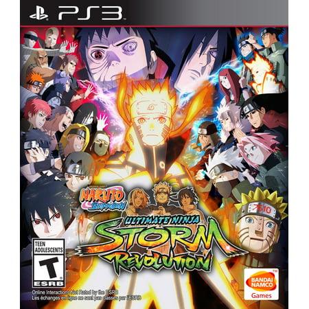 Namco Naruto Shippuden Ultimate Ninja Storm Revolution Day 1