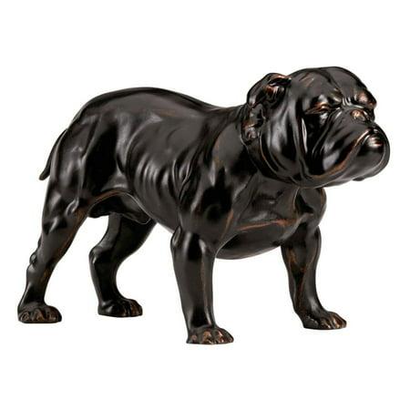 Design Toscano Lord Byrons Bulldog Sculpture