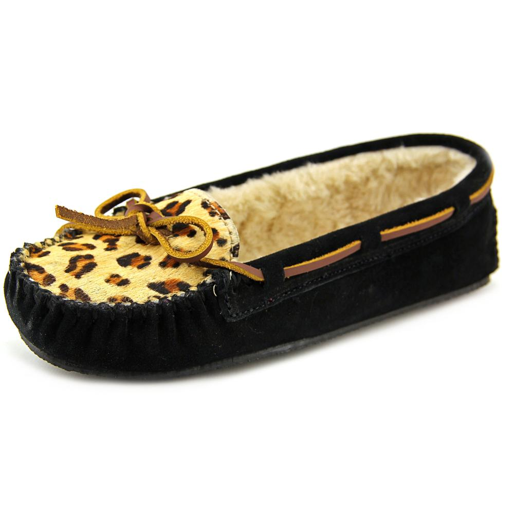 Minnetonka Cally    Suede  Moccasin Slippers Shoes
