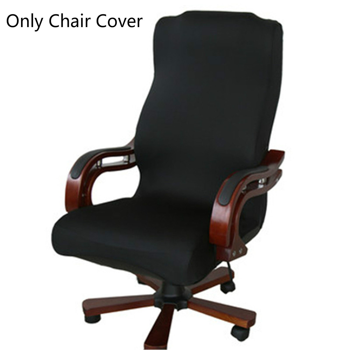 Chair Cover Elastic Spandex Office Computer Chair Cover Side Zipper Design Arm Chair Protector Cover Recouvre Chaise Stretch Rotating Lift Chair Walmart Com Walmart Com