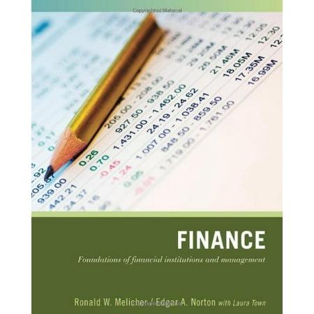 Finance By Ronald Melicher