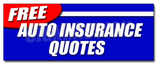 "36"" FREE AUTO INSURANCE QUOTES DECAL sticker car motorcycle homeowner save by SignMission"