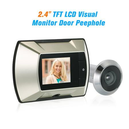 Visual Monitor Door Peephole Wireless Viewer Camera Digital Electric Peephole Doorbell Monitor 2.4