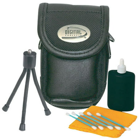 Digital Concepts 3-Piece Digital Camera Starter Kit w/ Cleaning Kit and 5
