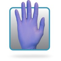 The Safety Zone Nitrile Examination Glove GNEP-MD-1P Powder Free Indigo Size Medium 100/box, 10 boxes/case