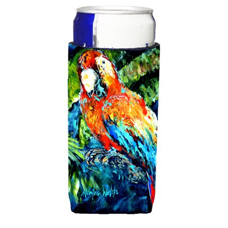 Yo Yo Mama Parrot Ultra Beverage Insulators for slim cans MW1204MUK