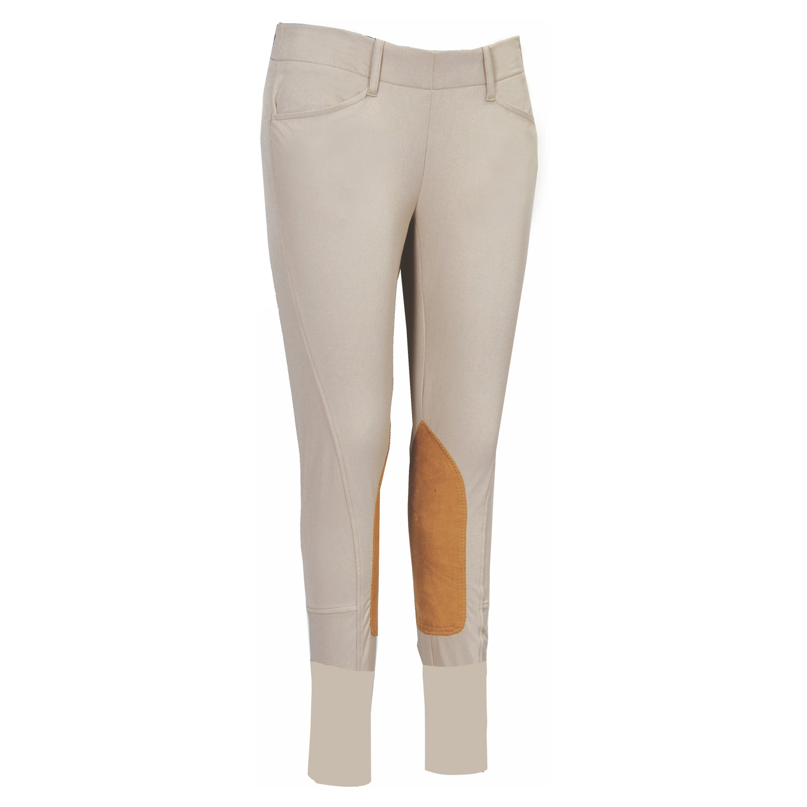 Equine Couture Childrens Coolmax Champion Side Zip Breeches