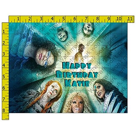 Wrinkle in Time Personalized Birthday Edible Frosting Image 1/4 sheet - Spongebob Cake Toppers