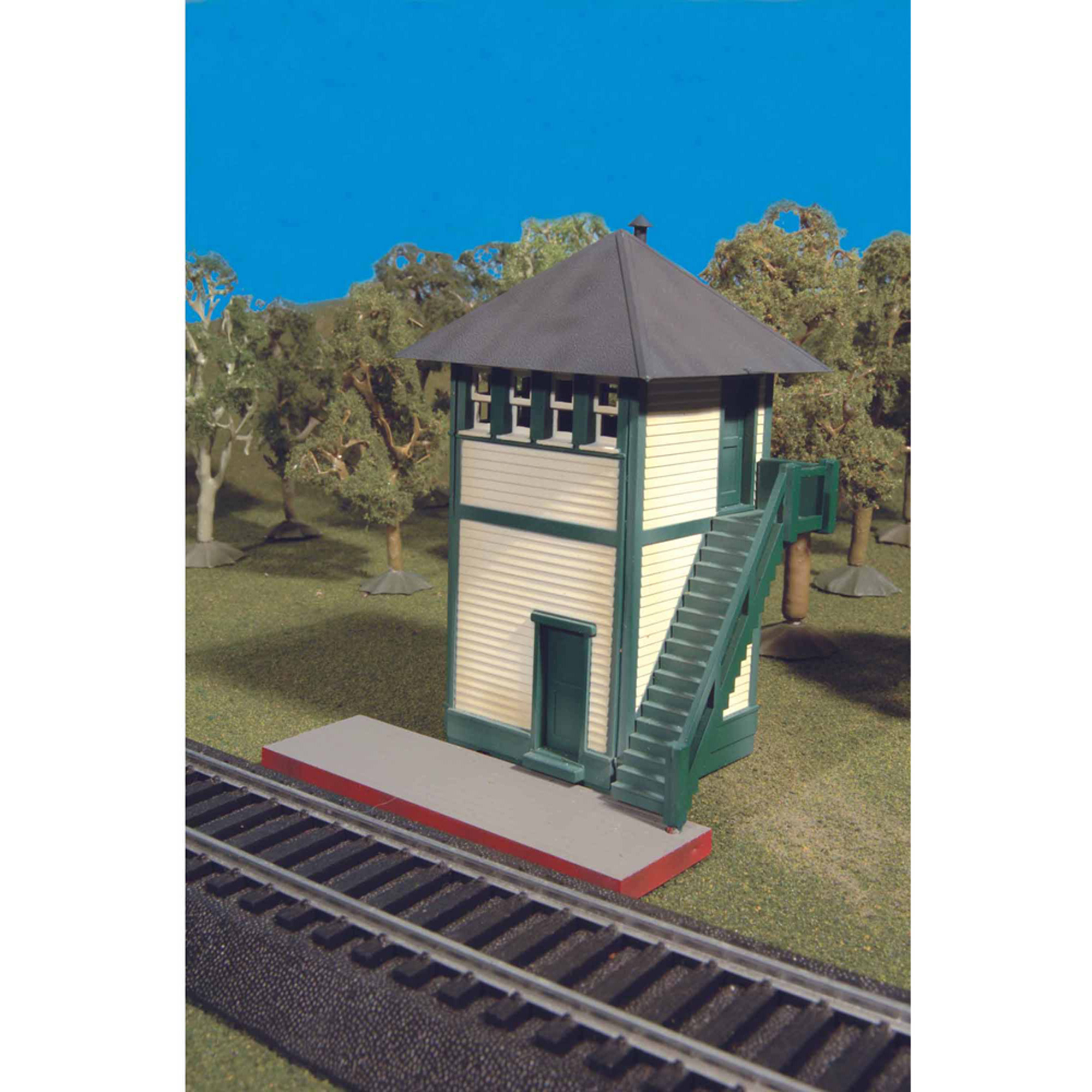 Bachmann Trains Thomas and Friends Switch Tower Scenery item, HO Scale