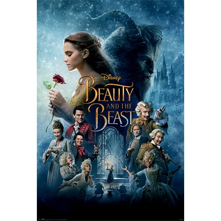- Beauty And The Beast - Movie Poster / Print (Regular Style / One Sheet Design) (Size: 24