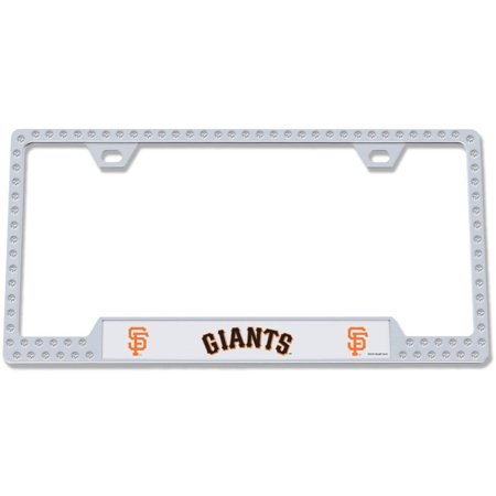 MLB 023245629263 San Francisco Giants Bling License Plate Frame ...