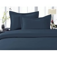 Christmas Xmass Holiday Gift  Luxury Super Soft WRINKLE FREE 3-Piece Duvet Cover Set, Full/Queen, Black