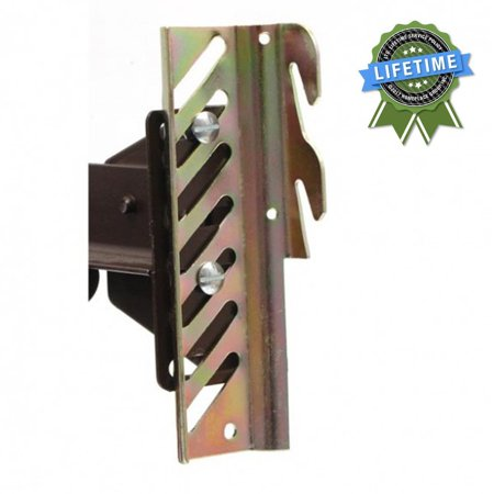 Forklift Hook Attachment (#69 Down Hook Bolt-On to Hook-On Conversion Bracket for Headboard or Footboard Attachment, Converts a bolt-on bed frame to allow for a hook-on type headboard. By Bed Claw,USA )