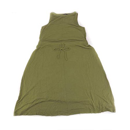 - Limited The Womens Size XXLarge Sleeveless Signature Midi Dress, Dusty Olive