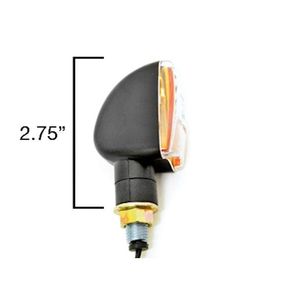 Mini Custom Turn Signals Indicator Lights Lamp For Kawasaki Vulcan Classic Nomad MeanStreak Drifter - image 2 de 5