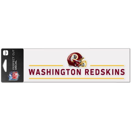 "Washington Redskins WinCraft 3"" x 10"" Helmet Perfect Cut Decal - No Size"