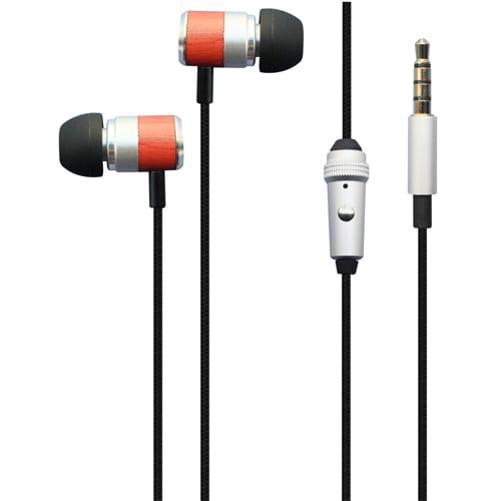 Premium Hi-Fi Sound Earbuds Hands-free Earphones Mic Metal Headphones Headset Compatible With Samsung Galaxy Note9 J7 (2018) Refine