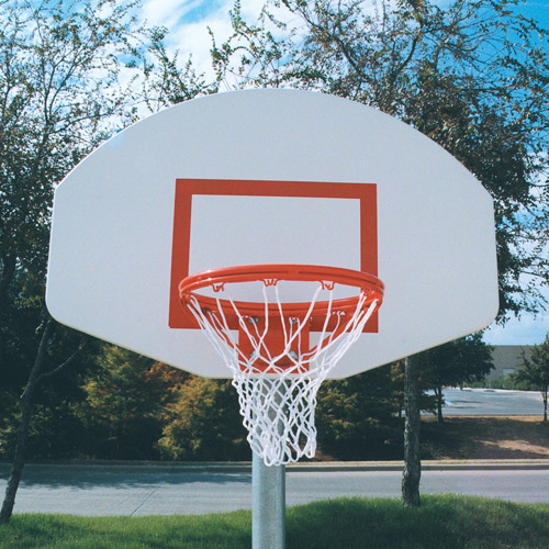 Official Aluminum Basketball Backboard, White