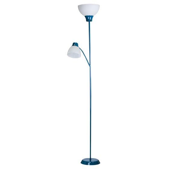 Mainstays 6ft Led Floor Lamp With Reading Light Walmart Com