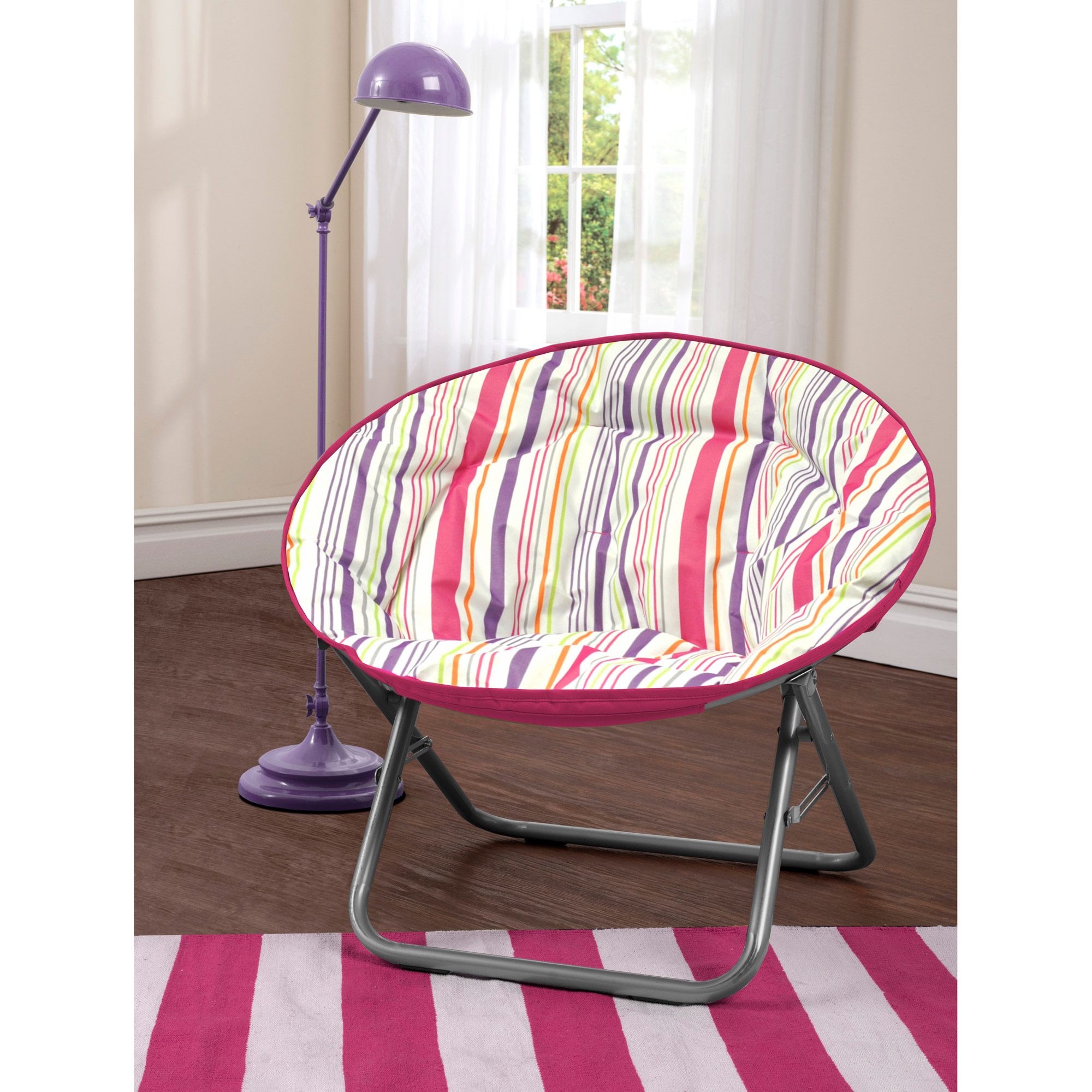 Urban Shop Surfer Stripe Saucer Chair