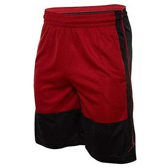8cbfd8b935e4b4 Nike mens RISE SOLID SHORT 889606-010 S - BLACK GYM RED GYM RED ...