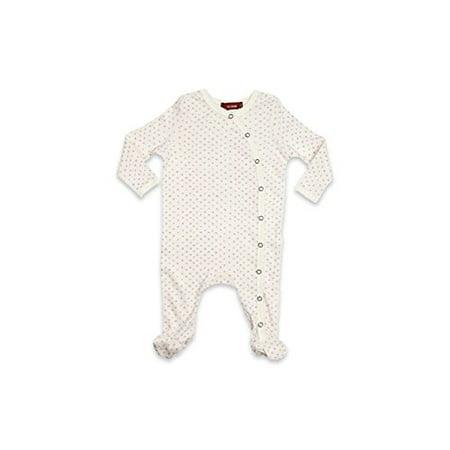 d24b77996939 Milkbarn Kids - Milkbarn Organic Cotton Long Sleeve Footed Romper (Lavender  Dot
