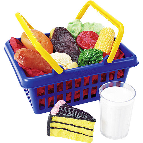 Learning Resources Play Dinner Foods Basket