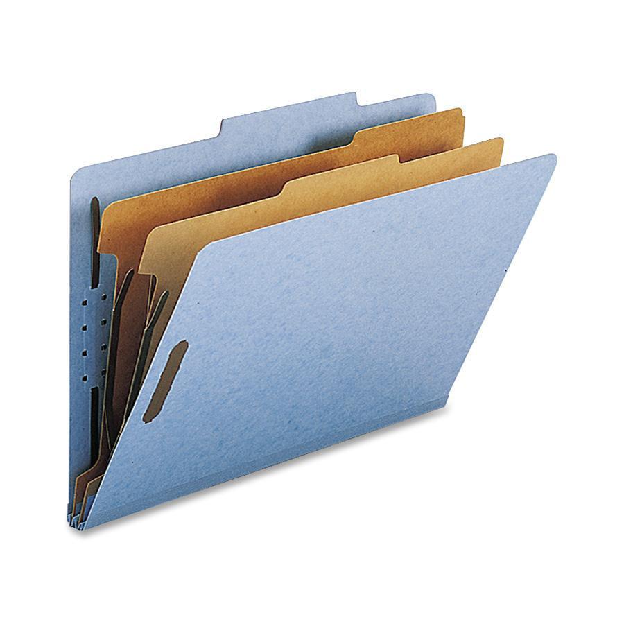 Nature Saver, NATSP17224, 2-divider Legal Classifciation Folders, 10 / Box, Blue