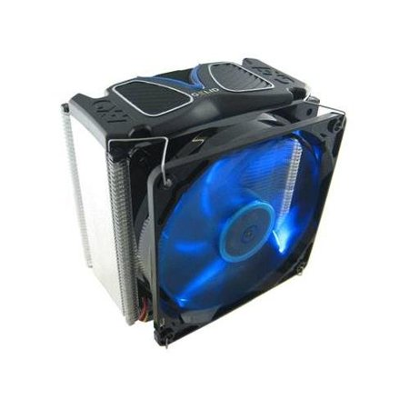 Review Gelid CC-GX7-01-A Gamer Series GX-7 & 7 Heatpipe CPU Cooler with 120mm Wing 12 PL Blue LED Fan for both Intel & AMD Sock Before Special Offer Ends