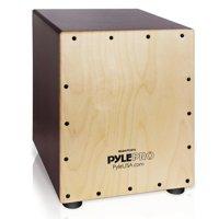 Pyle PCJD16 - Stringed Jam Cajon - Wooden Cajon Percussion Box